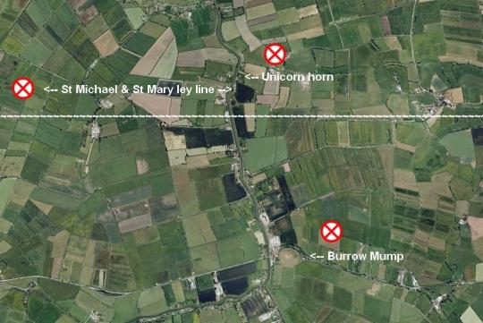 Burrom Mump map