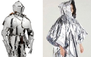 Knight in shining armour/Go Anywhere RF Shielding Disposable Poncho